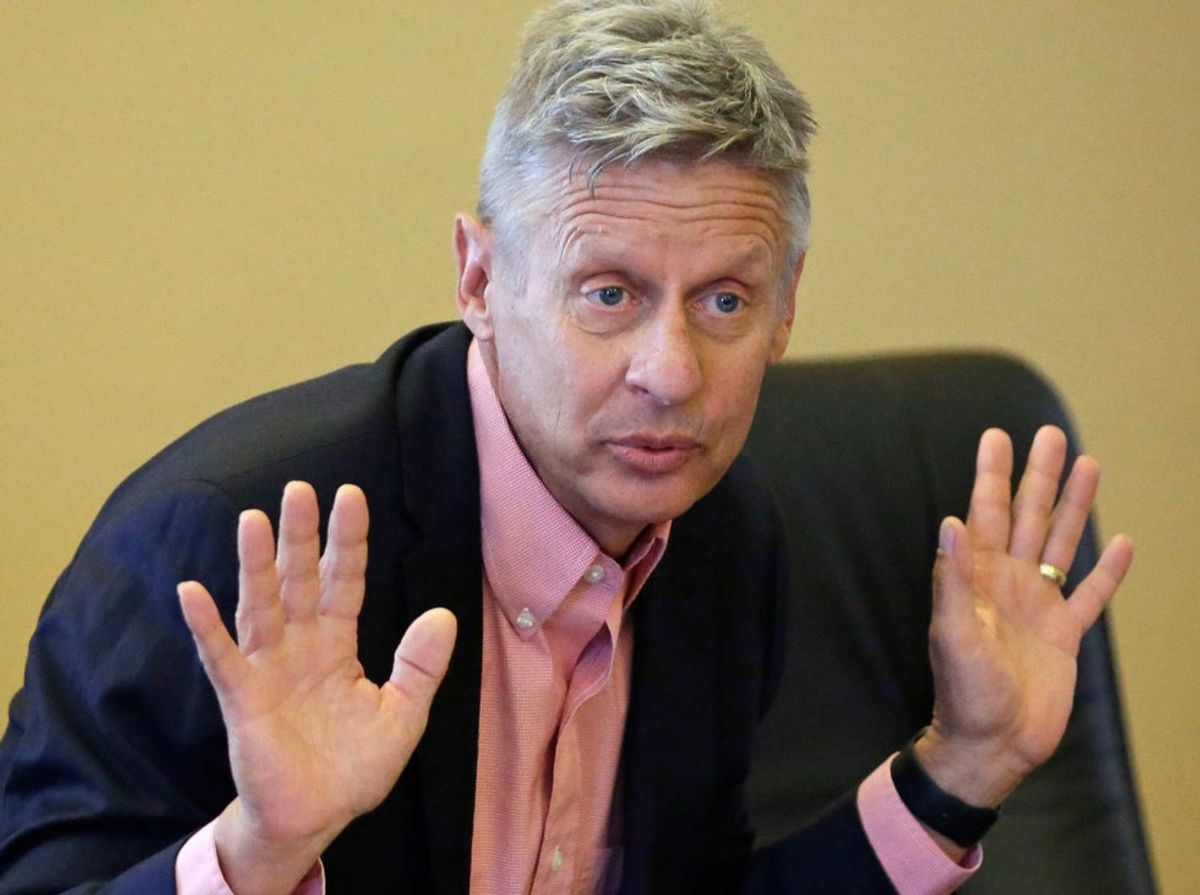 Who The Hell Is Gary Johnson?