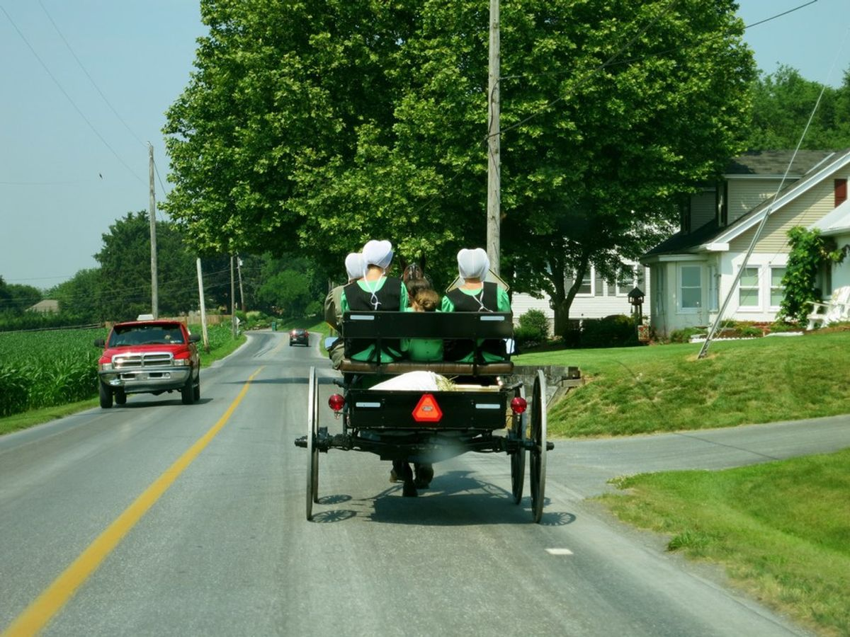 You Live In Lancaster, PA When...