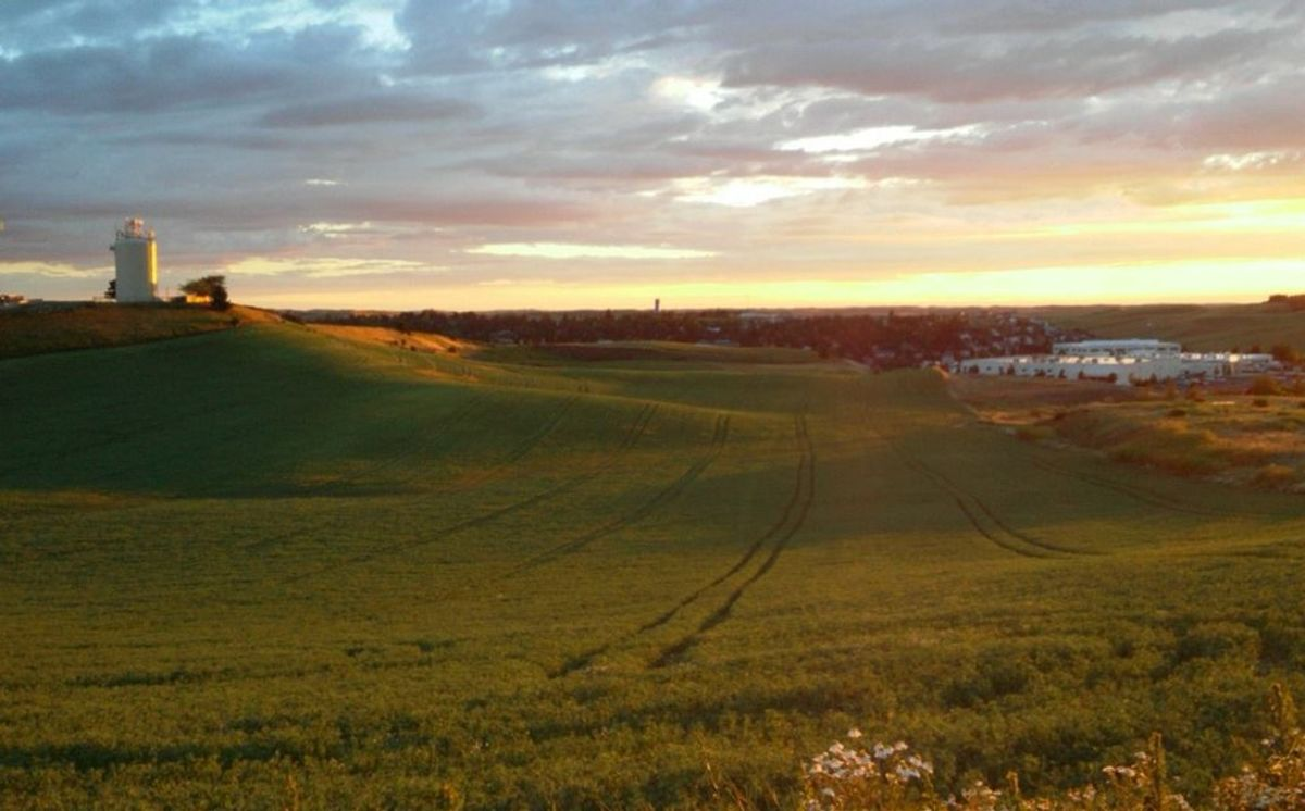 Once in a Palouse Sunset