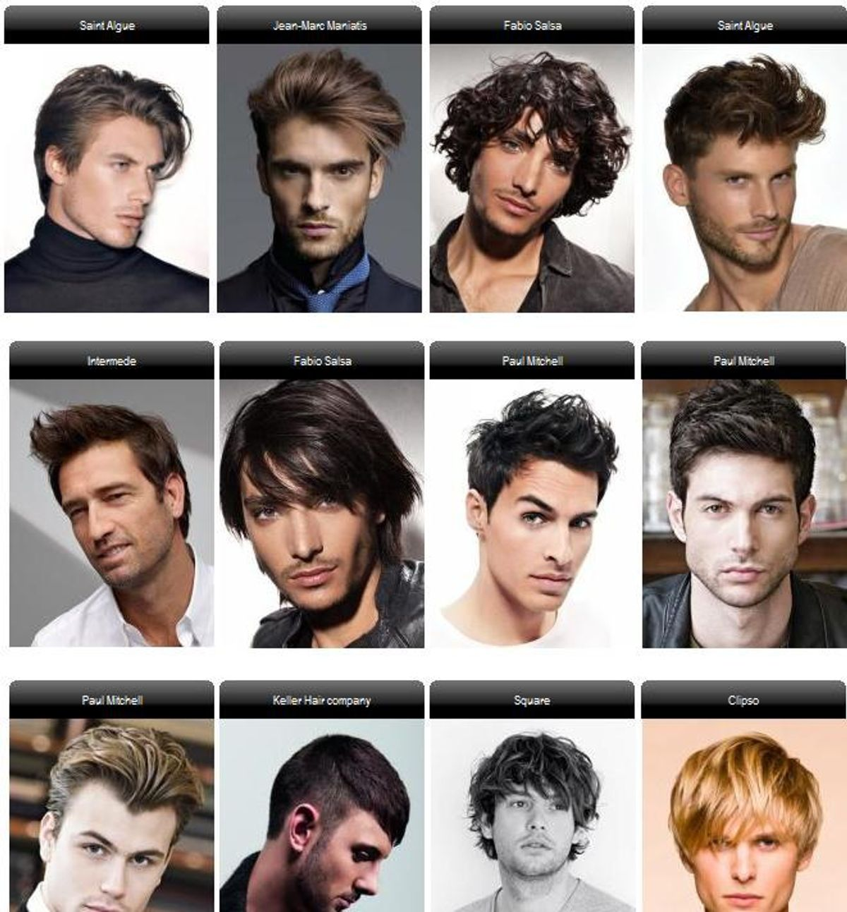 12 Different Hairstyles Of A 20 Year Old Male