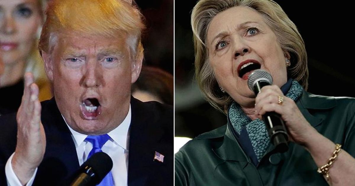 15 Ugly Pictures Of Hillary Clinton And Donald Trump