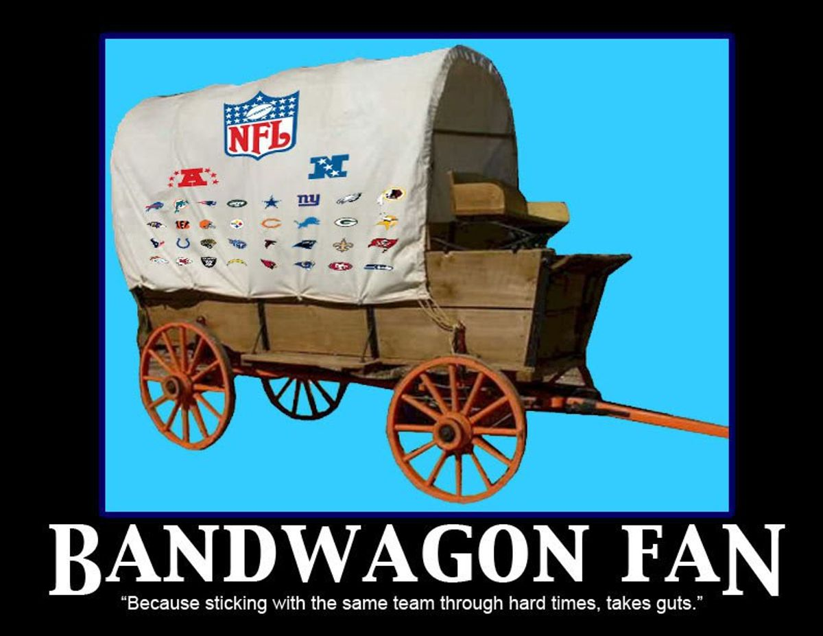An Open Letter to Bandwagon Fans