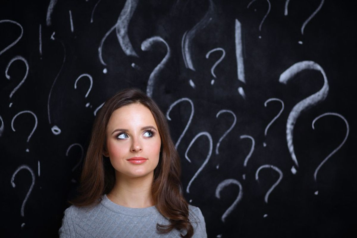 7 Questions Every Girl Asks Herself