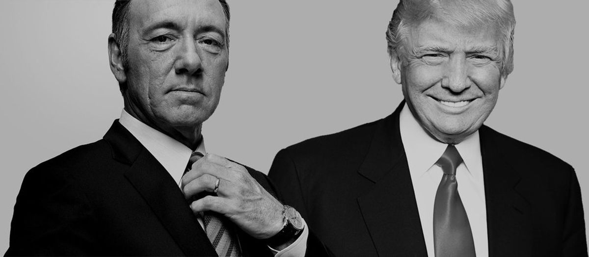 What Would Happen If Frank Underwood Ran Against Donald Trump?
