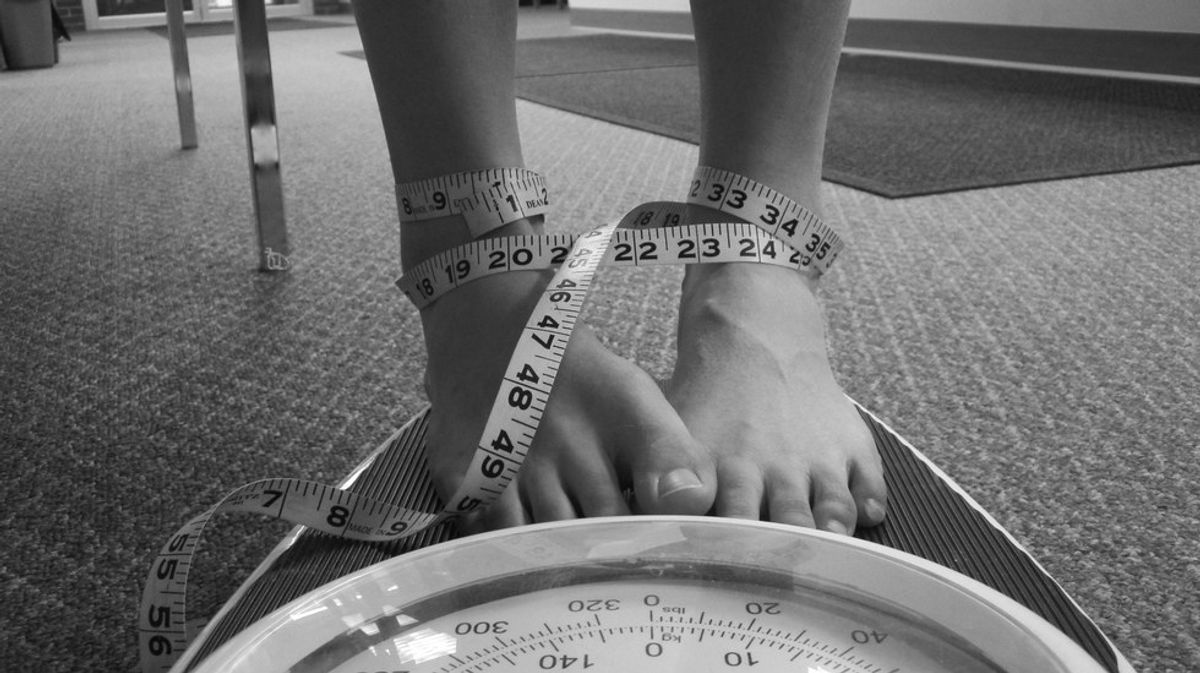 The Darkness Of An Eating Disorder