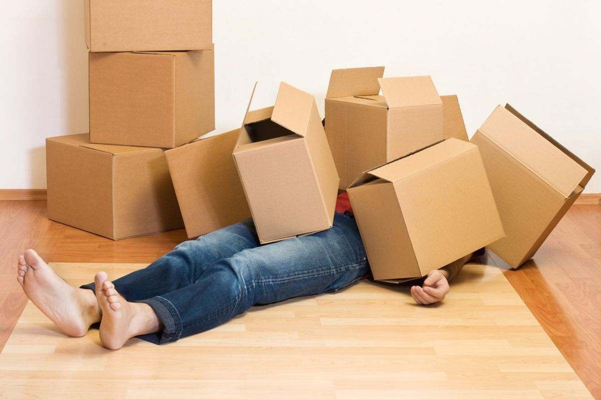 The Struggles Of Moving Into Your First Apartment