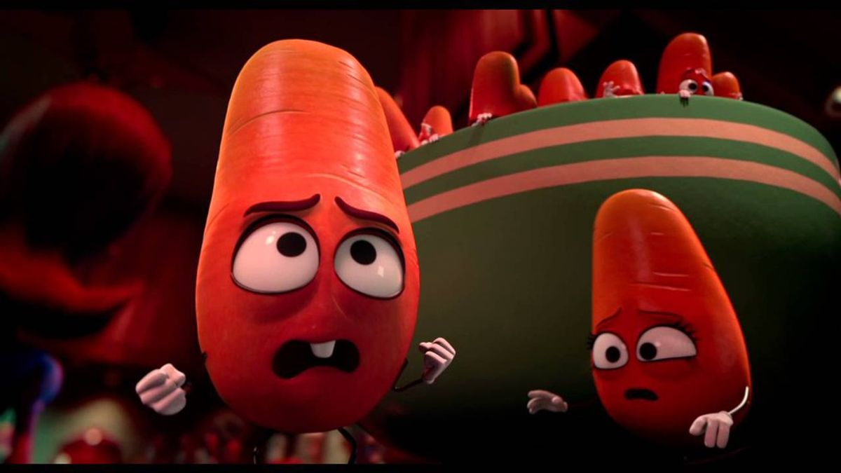 Why You Shouldn't Bring Your Children To Watch 'Sausage Party'