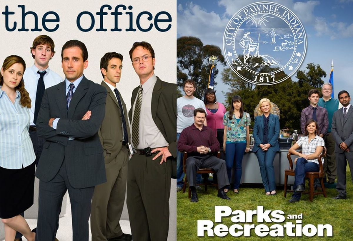 """""""The Office"""" Vs. """"Parks And Rec"""""""