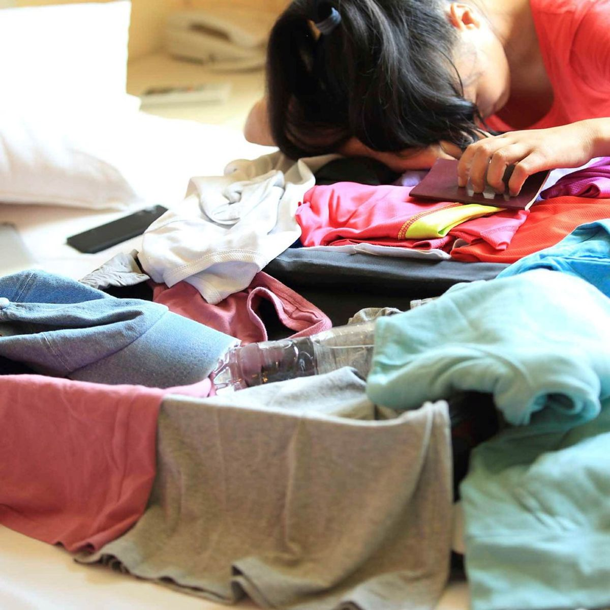 10 Stages of Packing for College