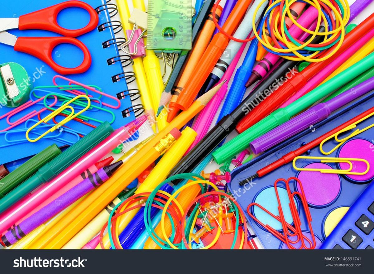 10 Things That Happen When You're Obsessed With School Supplies