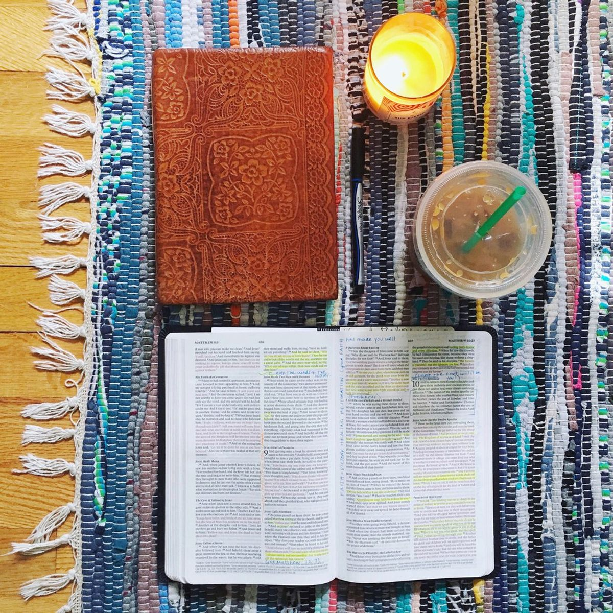 10 Steps To Falling More In Love With...Reading My Bible?