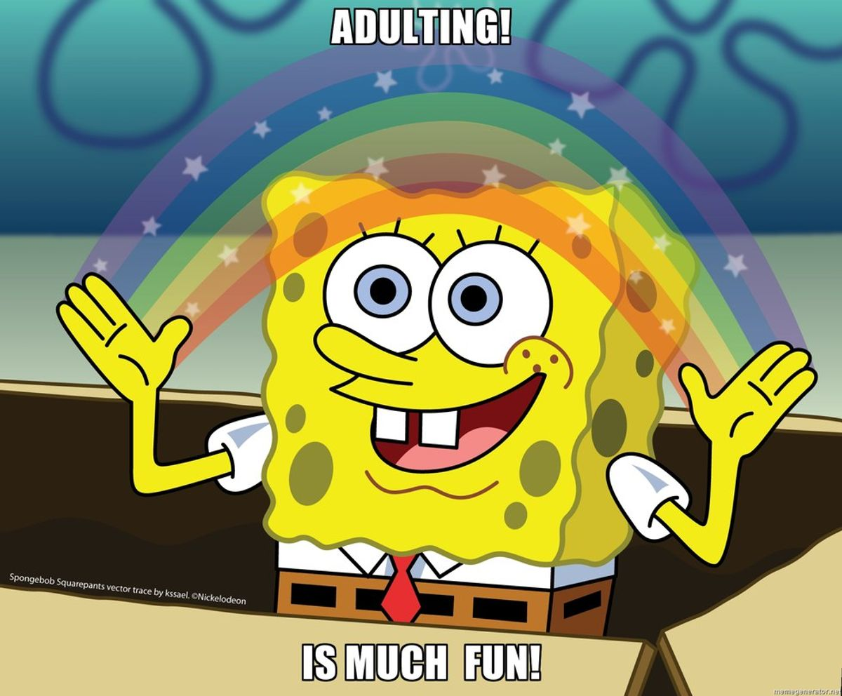 12 Reasons Why It's No Fun Being An Adult