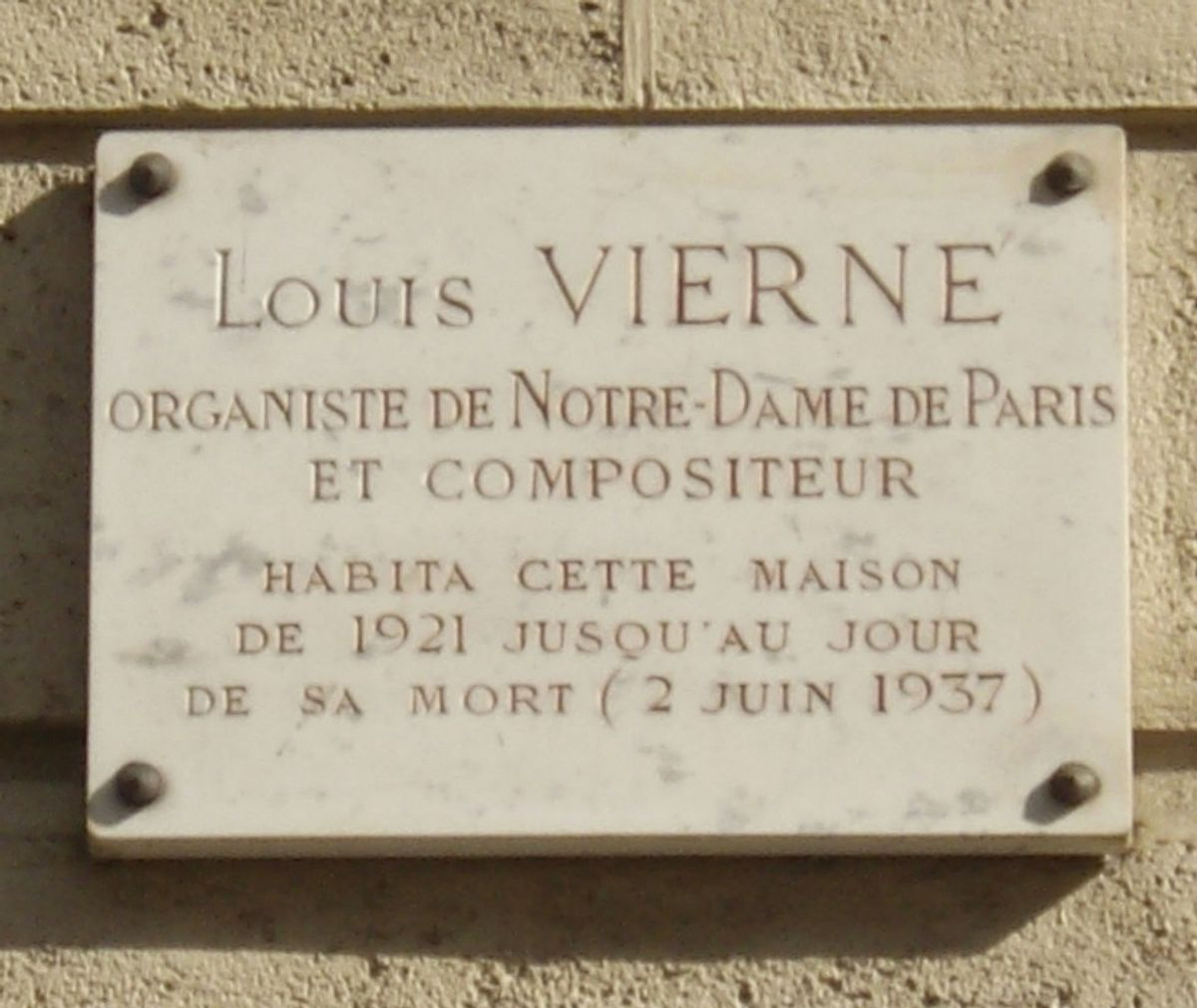 The Most Epic Death In Music History: Louis Vierne