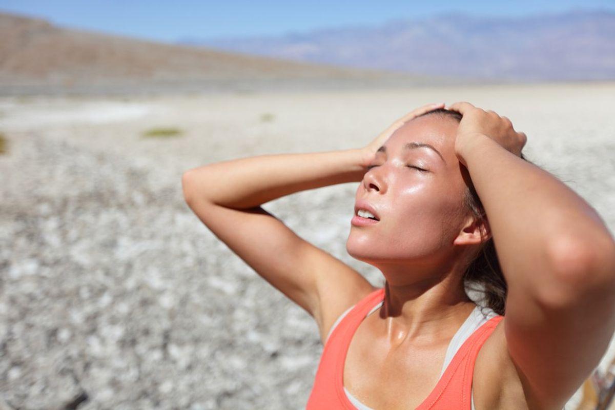 Sweating Isn't Hot, It's Beautiful
