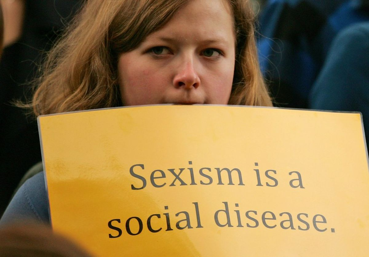 Acknowledge Gender Inequality, Please