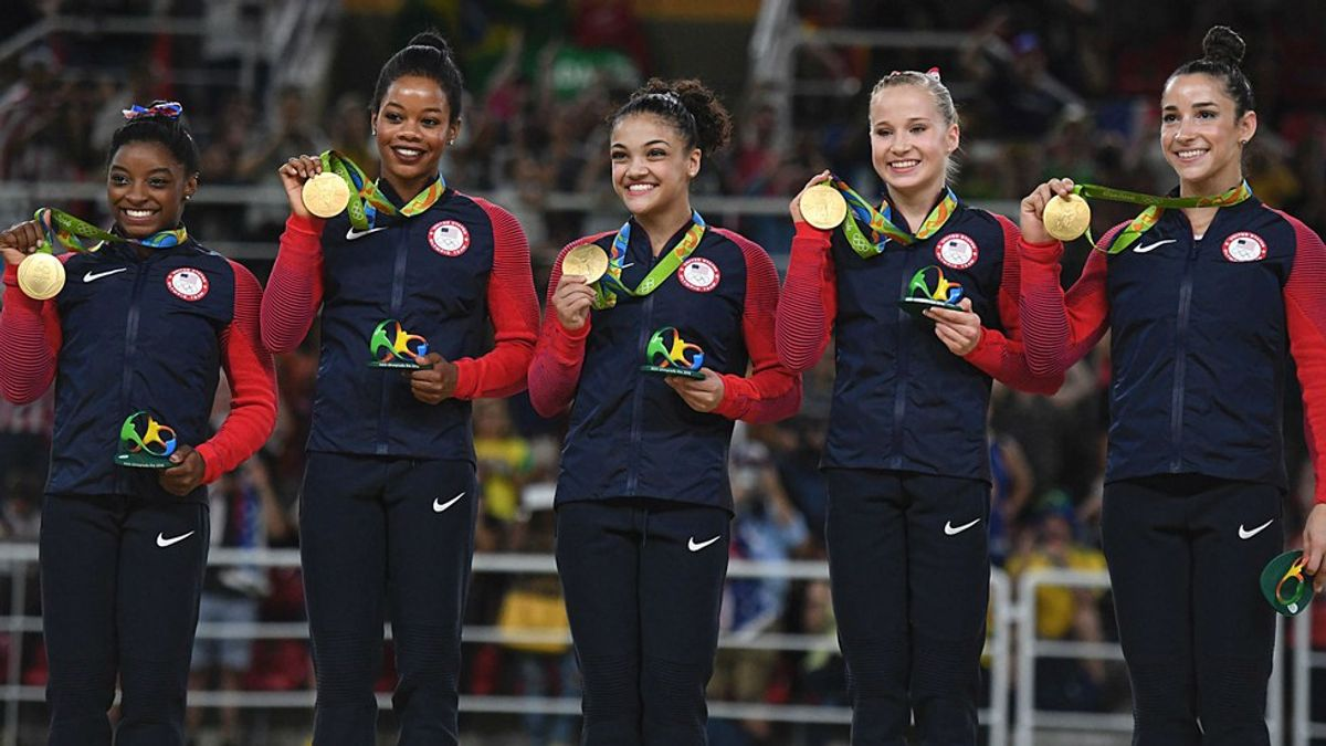 Gabby Douglas is Criticized at the Rio Games