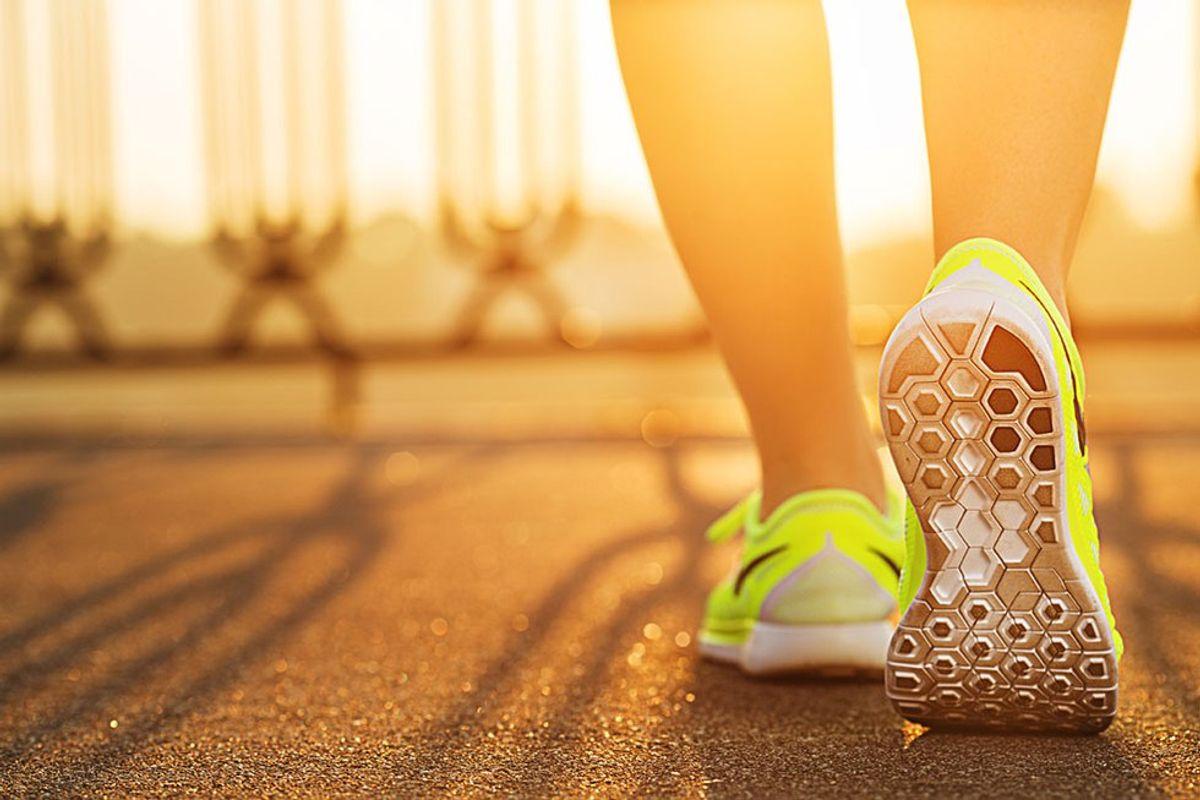 Running My Christian Walk