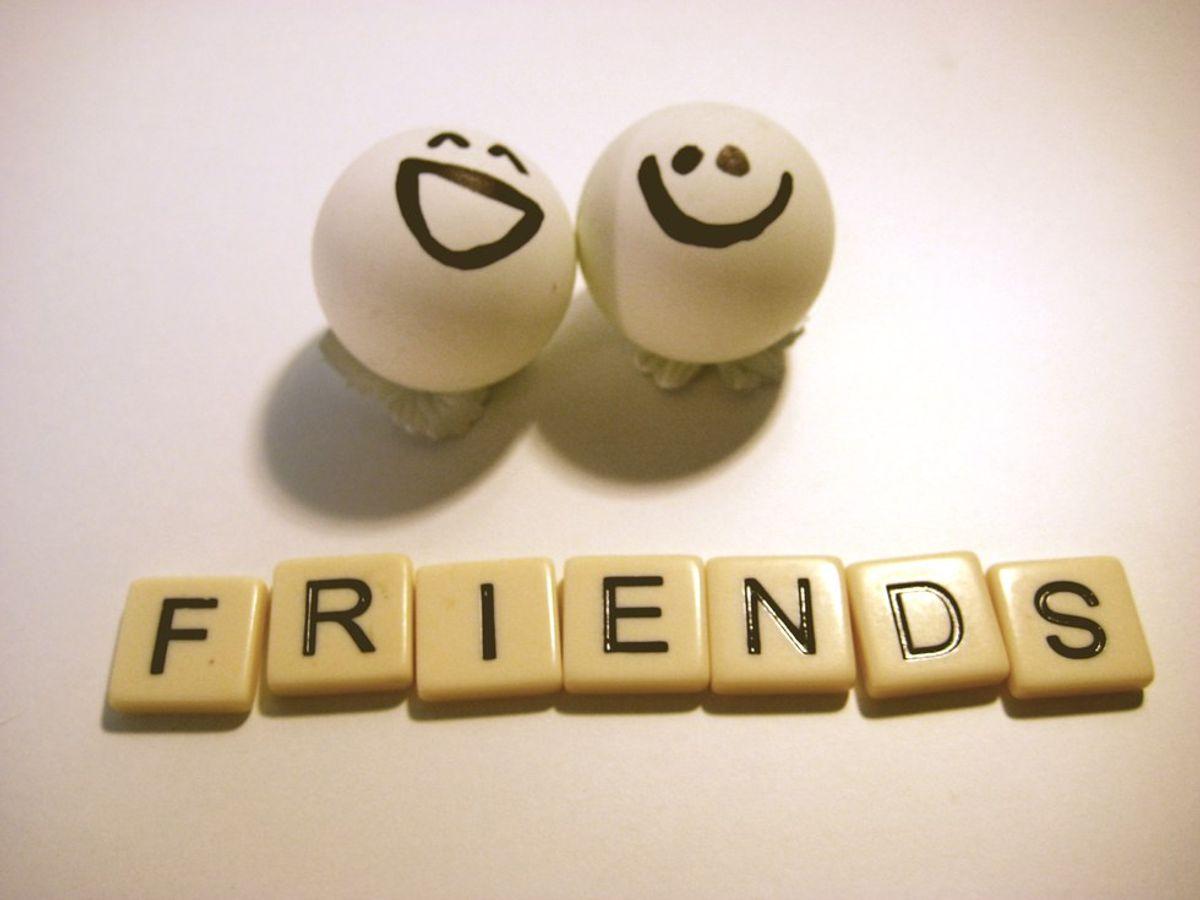 My Friends Are My World