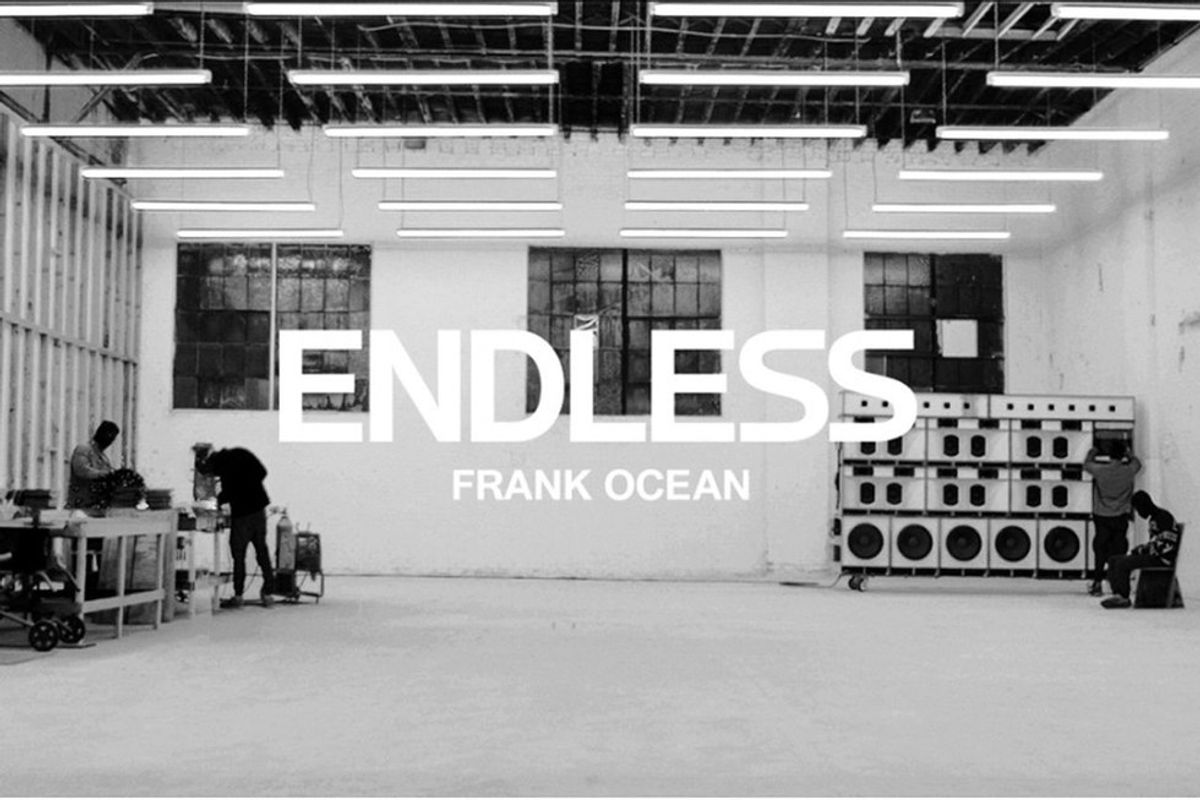 ENDLESS: A Frank Ocean Redemption