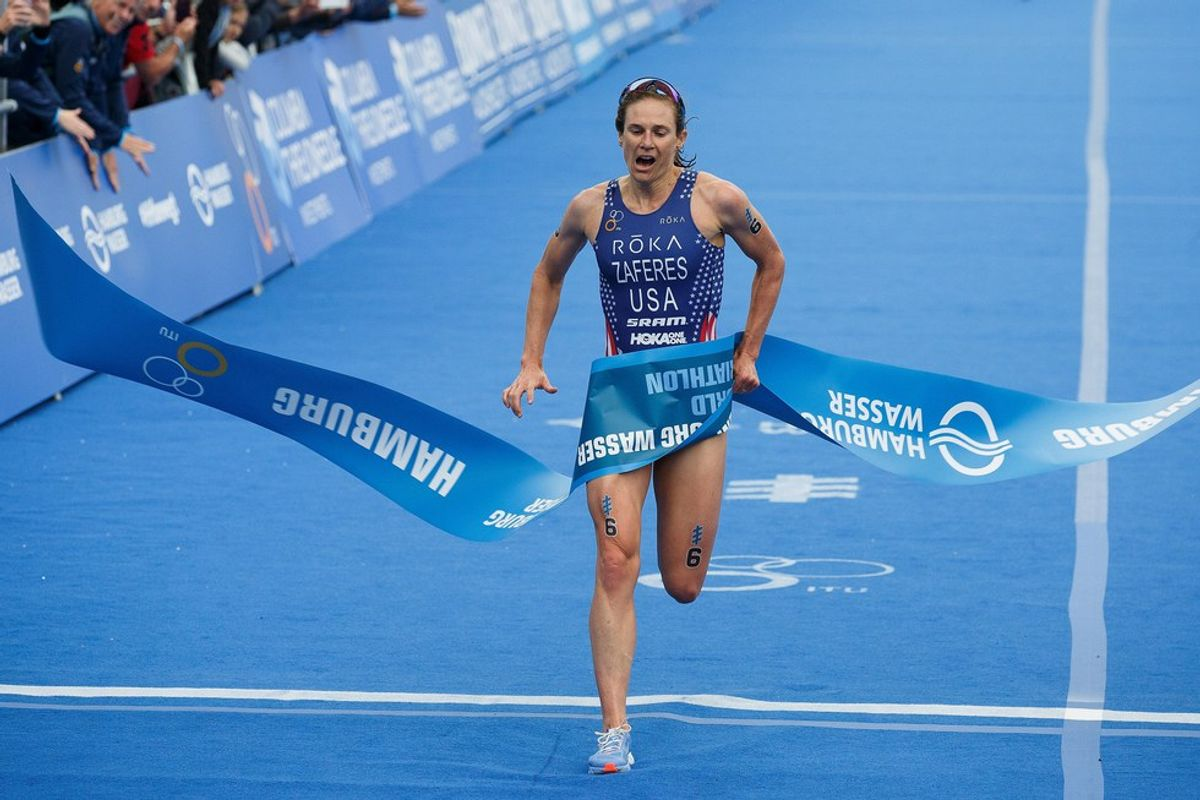 Hampstead Native Competes In Olympic Triathlon