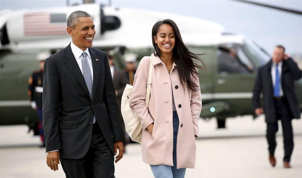 Malia Obama Caught Twerking & Smoking Weed, WHO CARES?