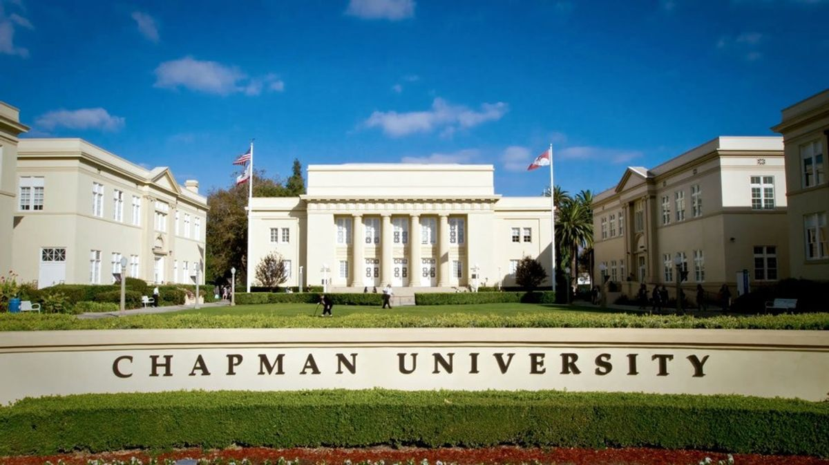 A Letter To Incoming Freshmen From An Outgoing Senior At Chapman University