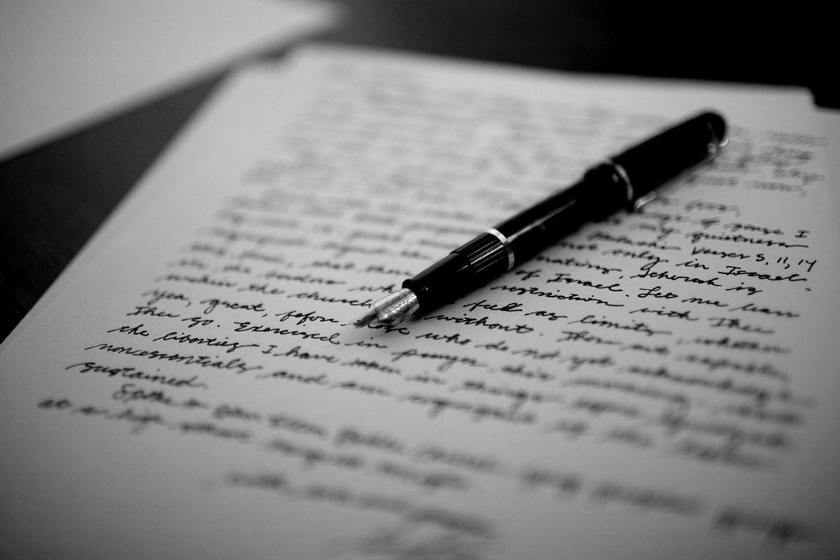 The Beauty Of A Hand-Written Letter