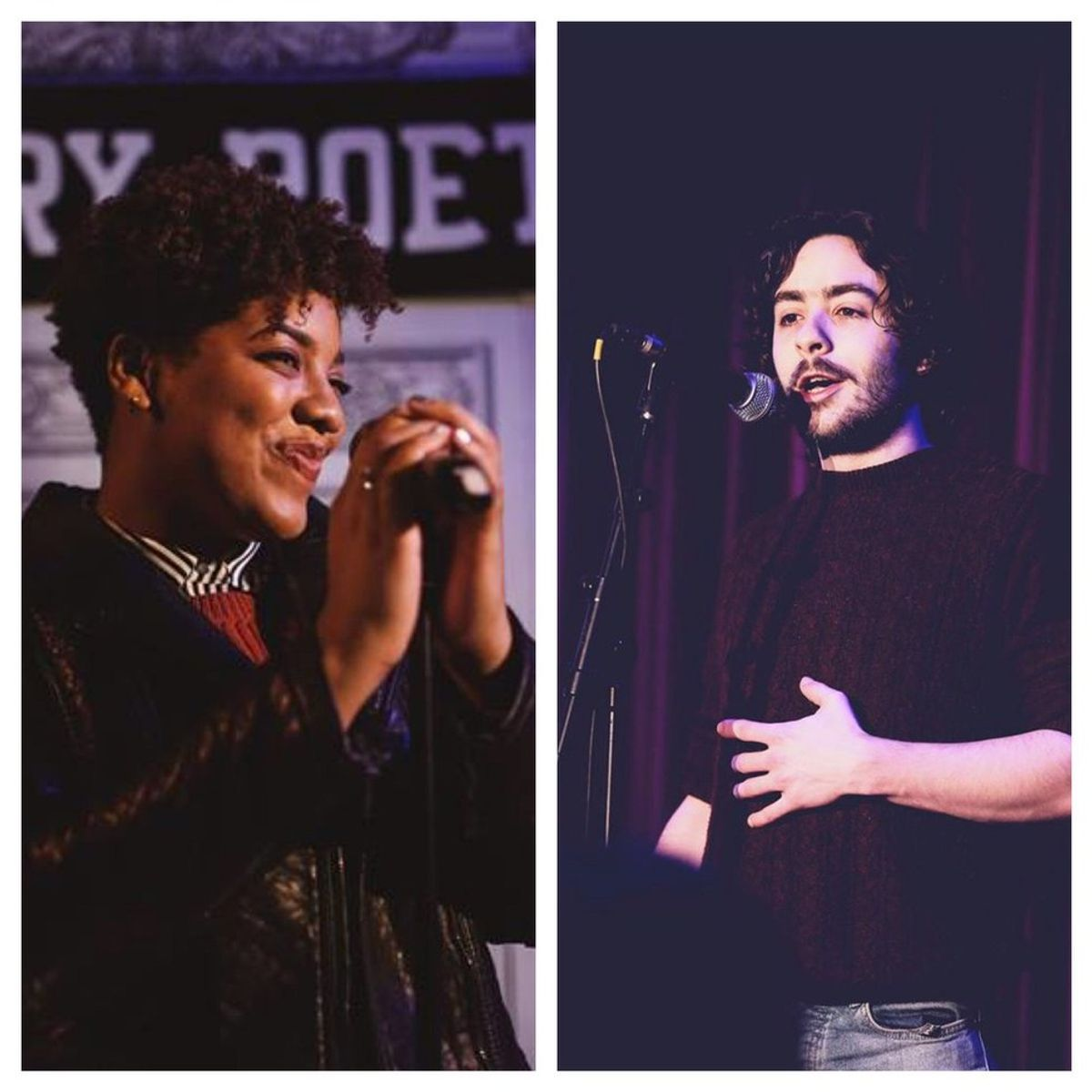 Poets of the Week: Cal Harris and Ashley August