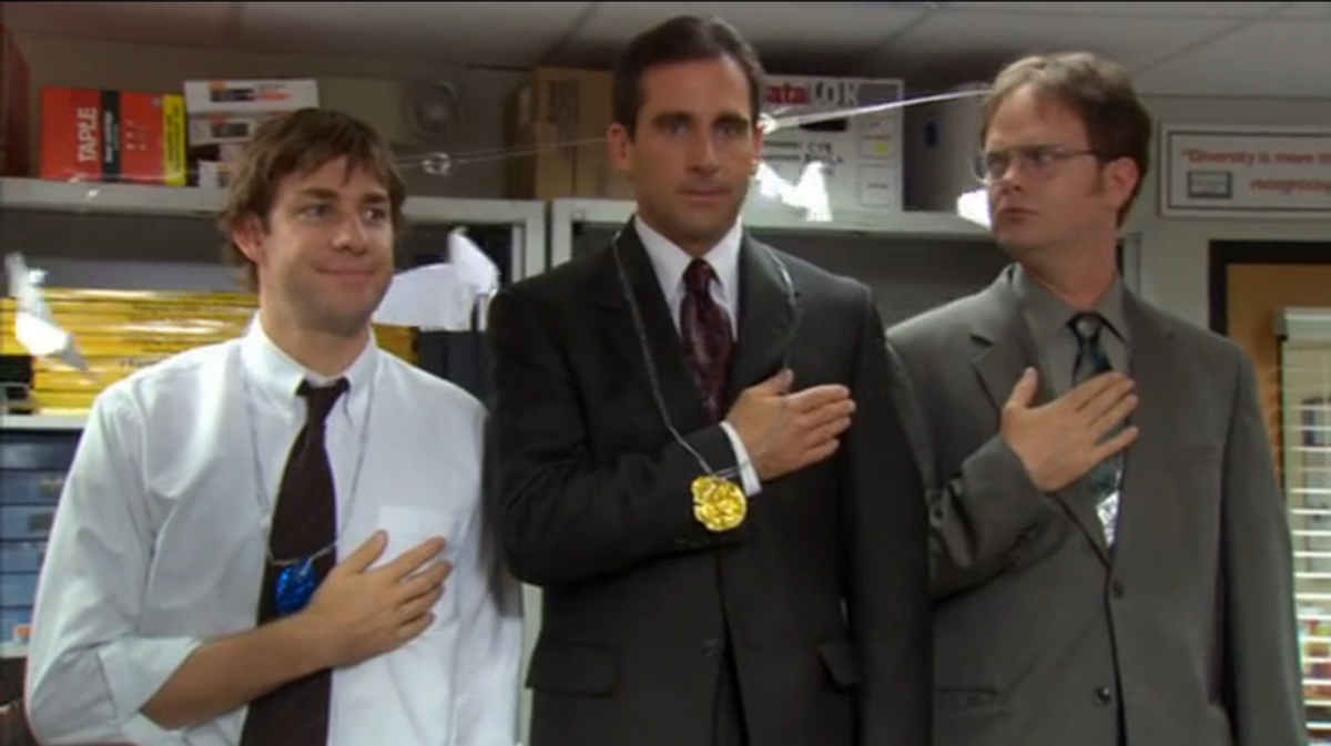 College Football Season As Told By The Office