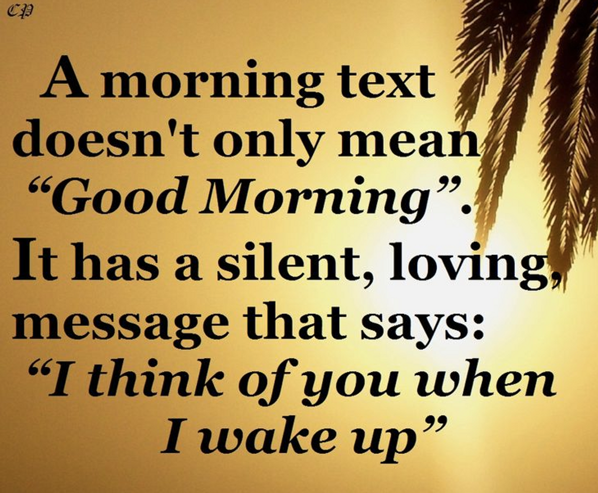 The Good-Morning Message