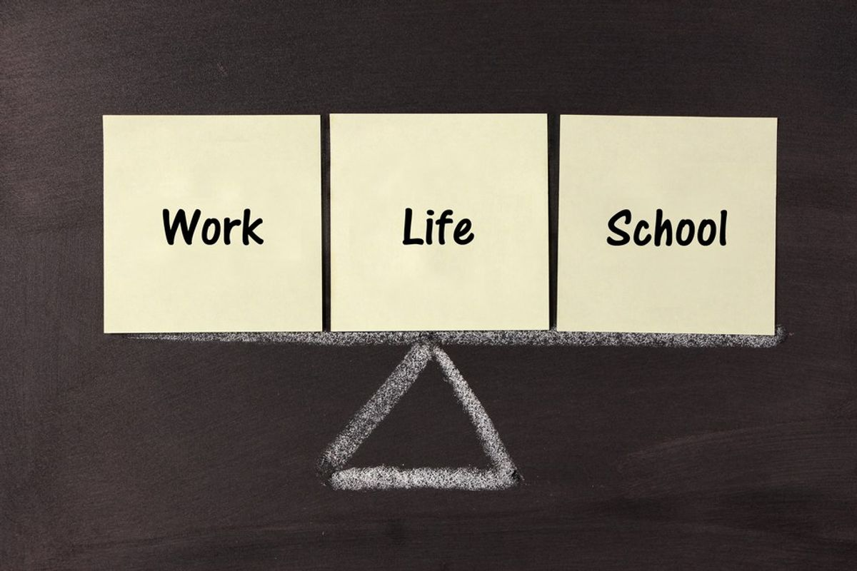10 Reasons Why I Worked Full Time And Went To School