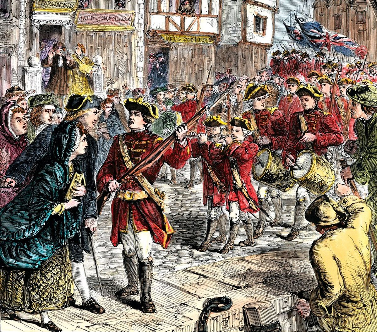 A British Perspective On The American Revolution