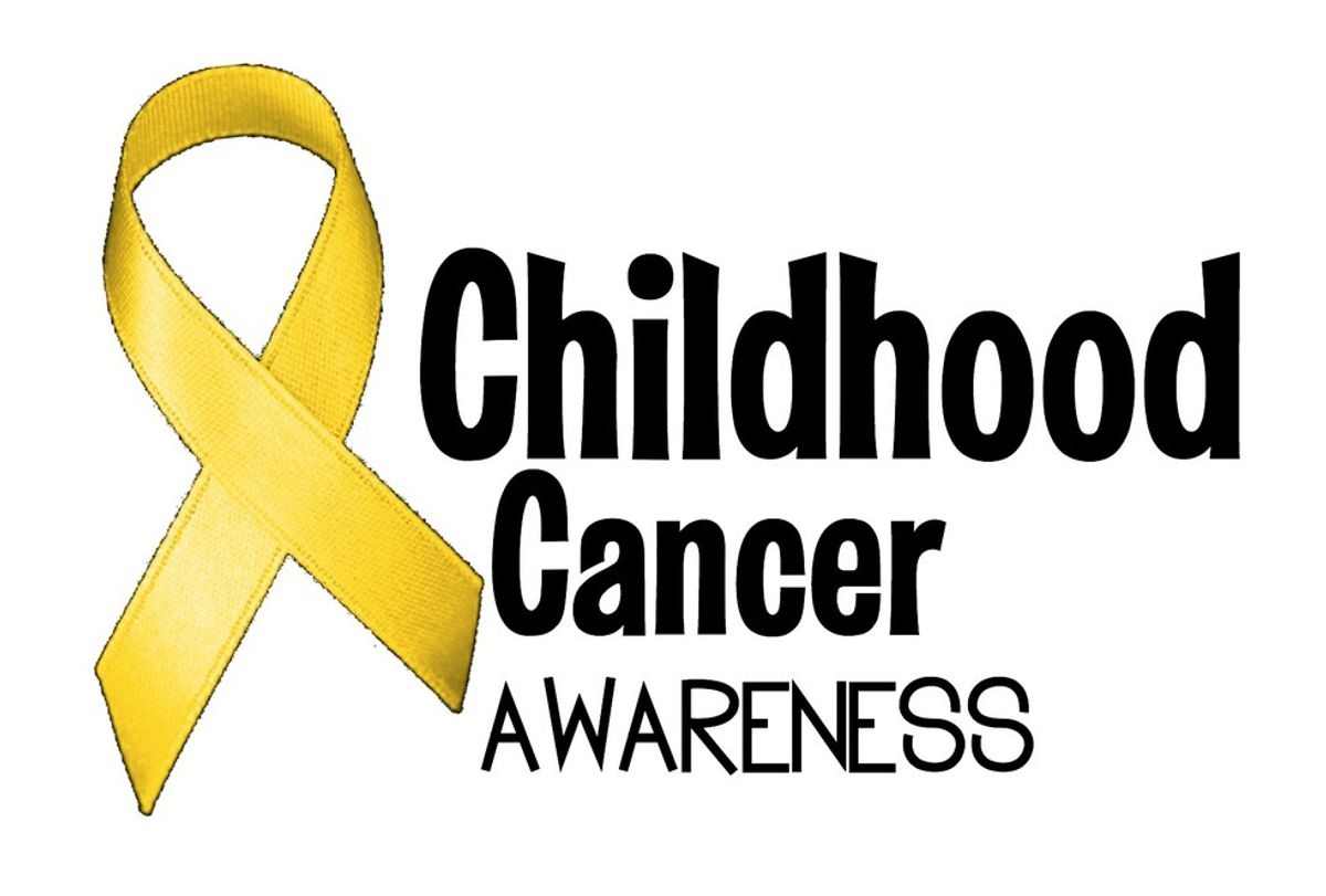 It's September, But More Importantly It's Childhood Cancer Awareness Month