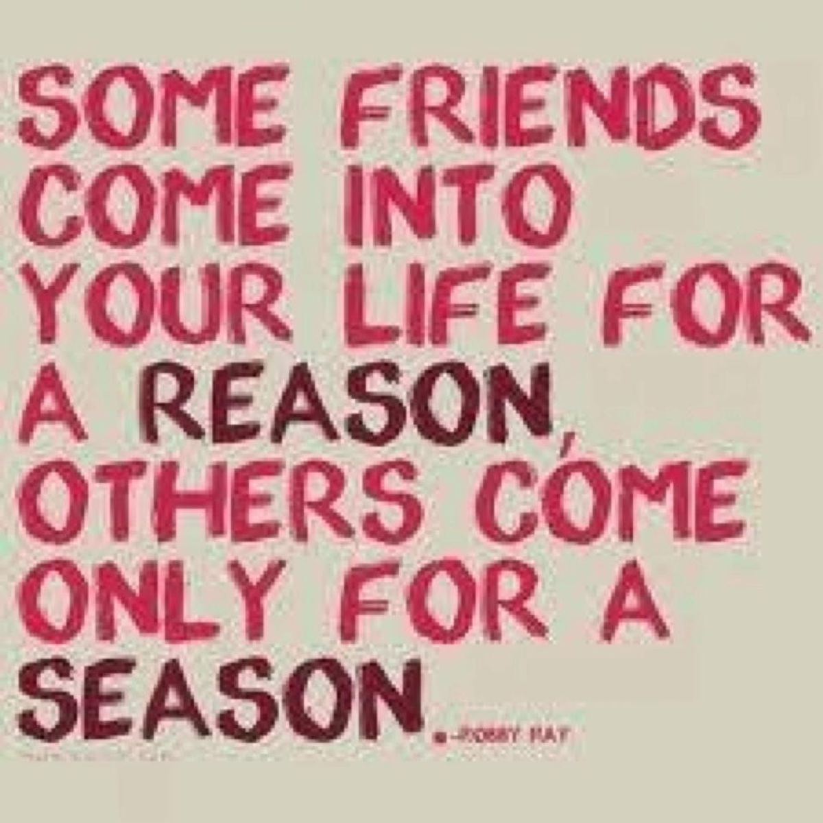 To My Former Childhood Friends