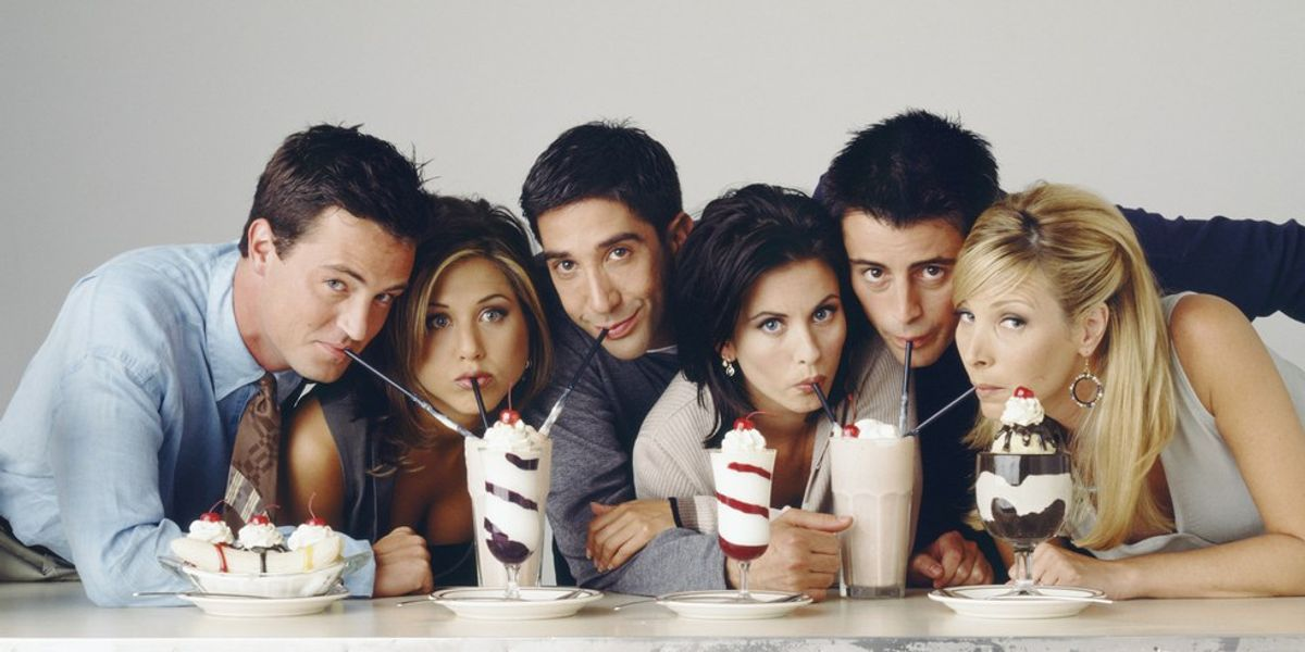Back To College As Told By 'Friends'