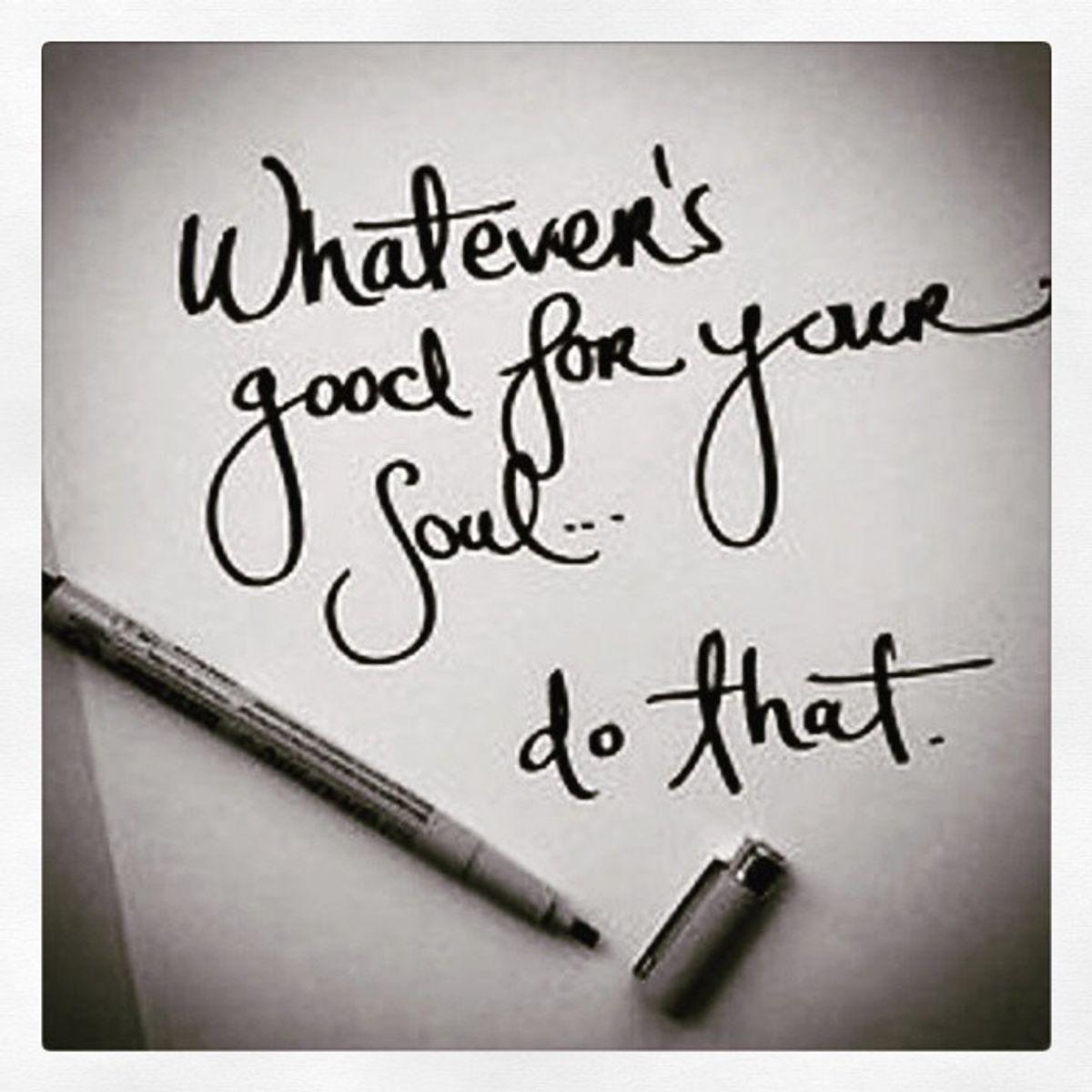 It Is Okay To Be Selfish