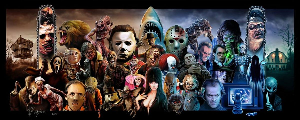 Stereotypical Horror Movie Characters