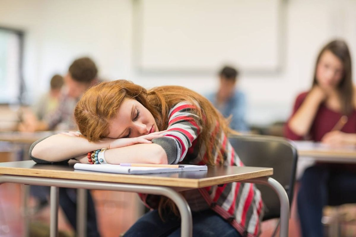 There's Not Enough Time In The Day For College Students