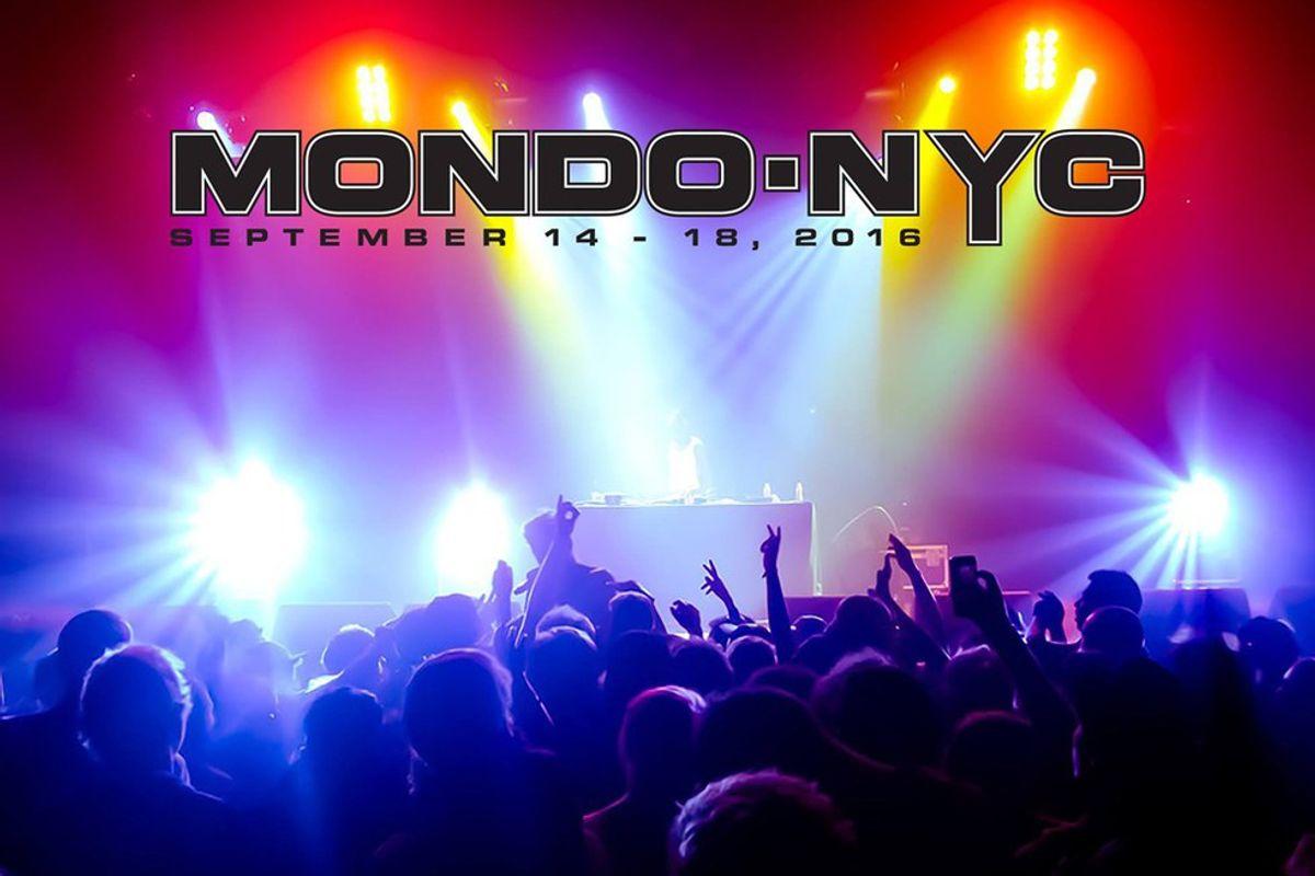 12 Acts To See At Mondo.NYC 2016