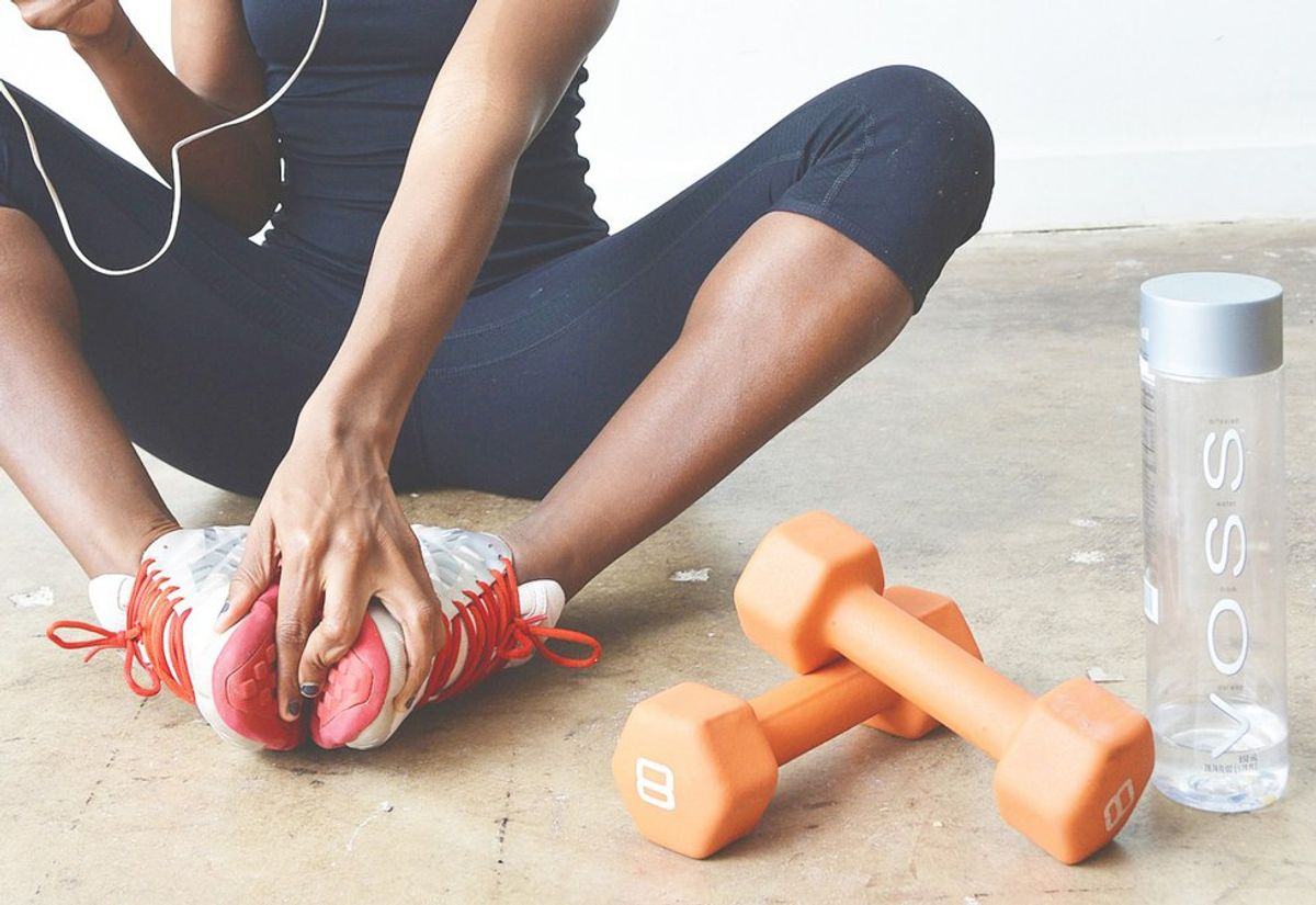 6 thoughts you have when working out for the first time