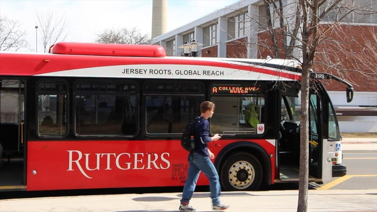 Rutgers Bus System as Told by GIFs