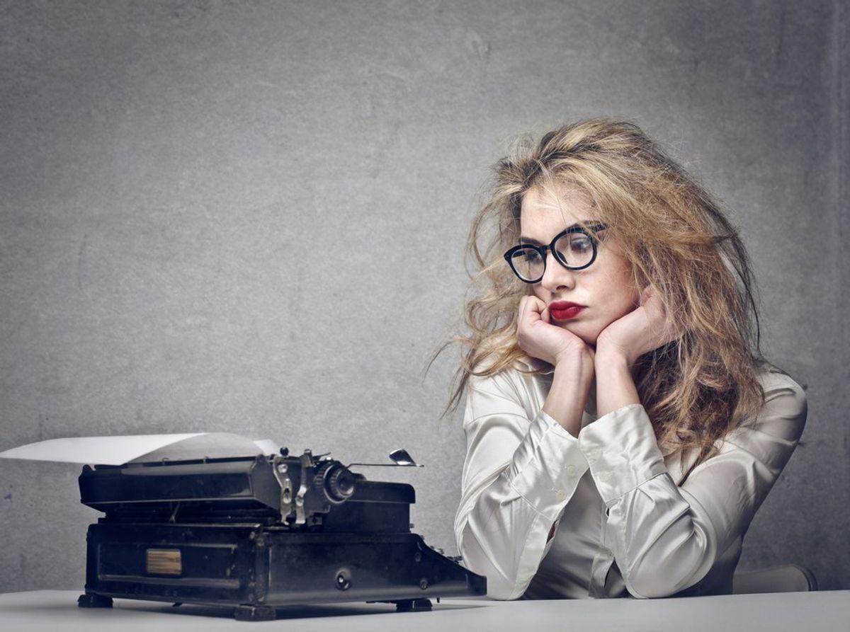 When Writer's Block Strikes