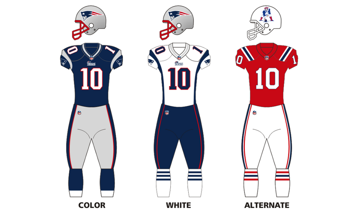 New England Joins the Color Rush