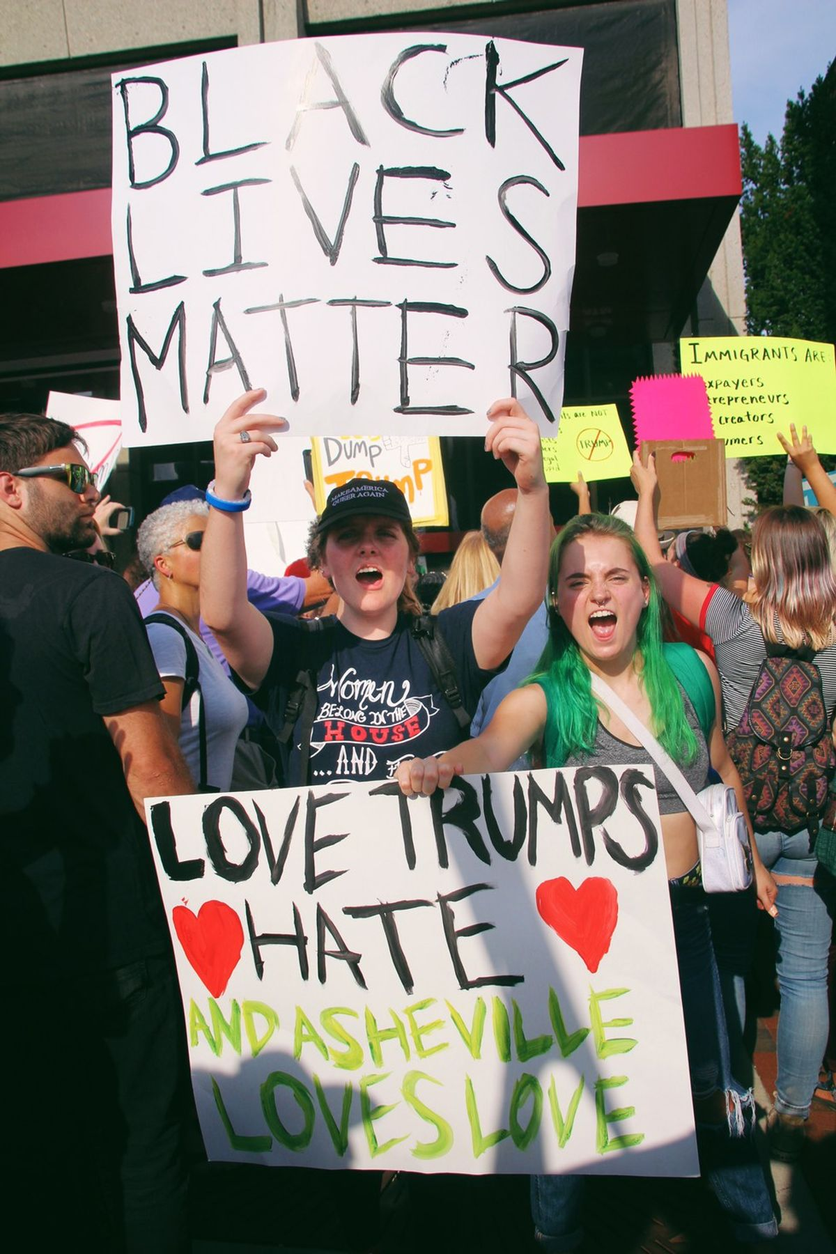 The Asheville Trump Rally: My Experience
