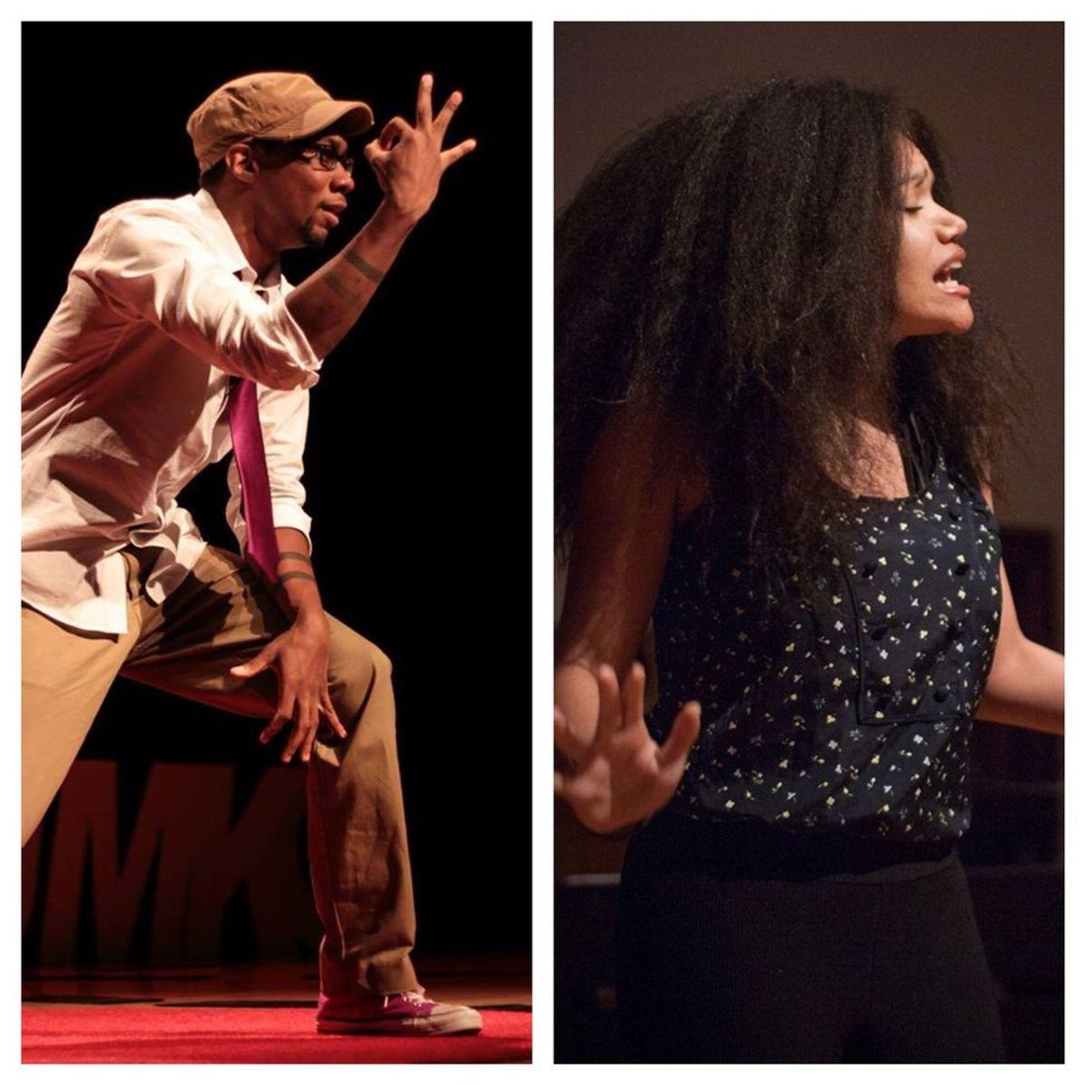 Poets of the Week: Omar Holmon and Alysia Harris
