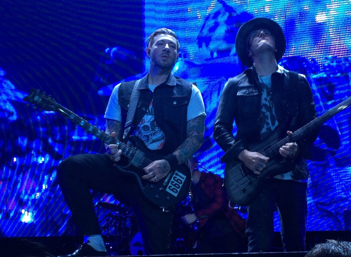 Avenged Sevenfold Welcomed Grand Rapids, MI Back To 'Bat Country'