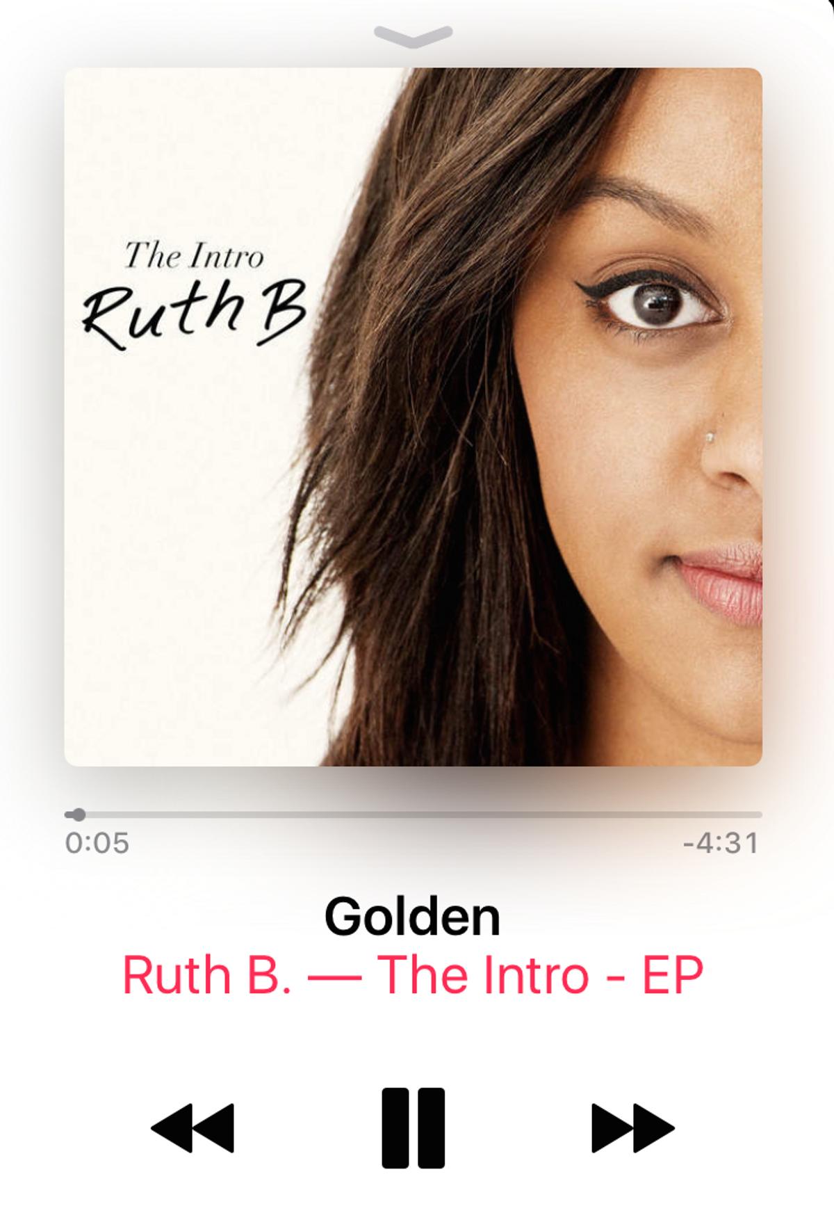 Golden by Ruth B.