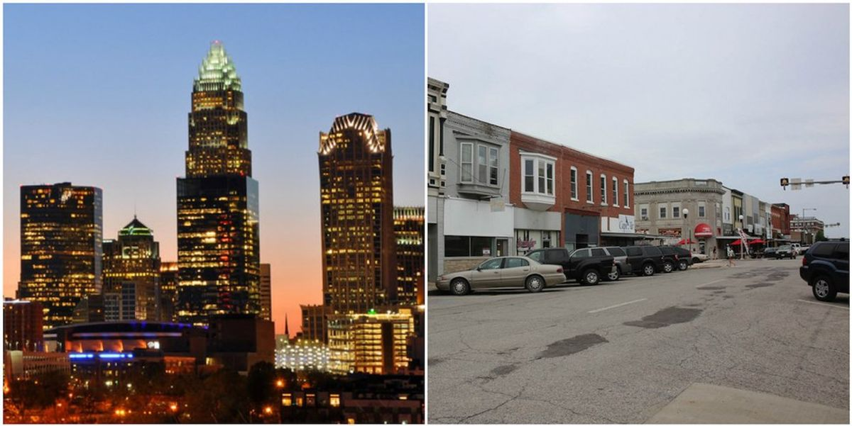 Going From A Big City To Kirksville, Missouri