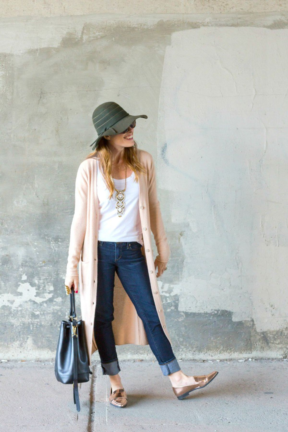 How To Wear A Duster Cardigan