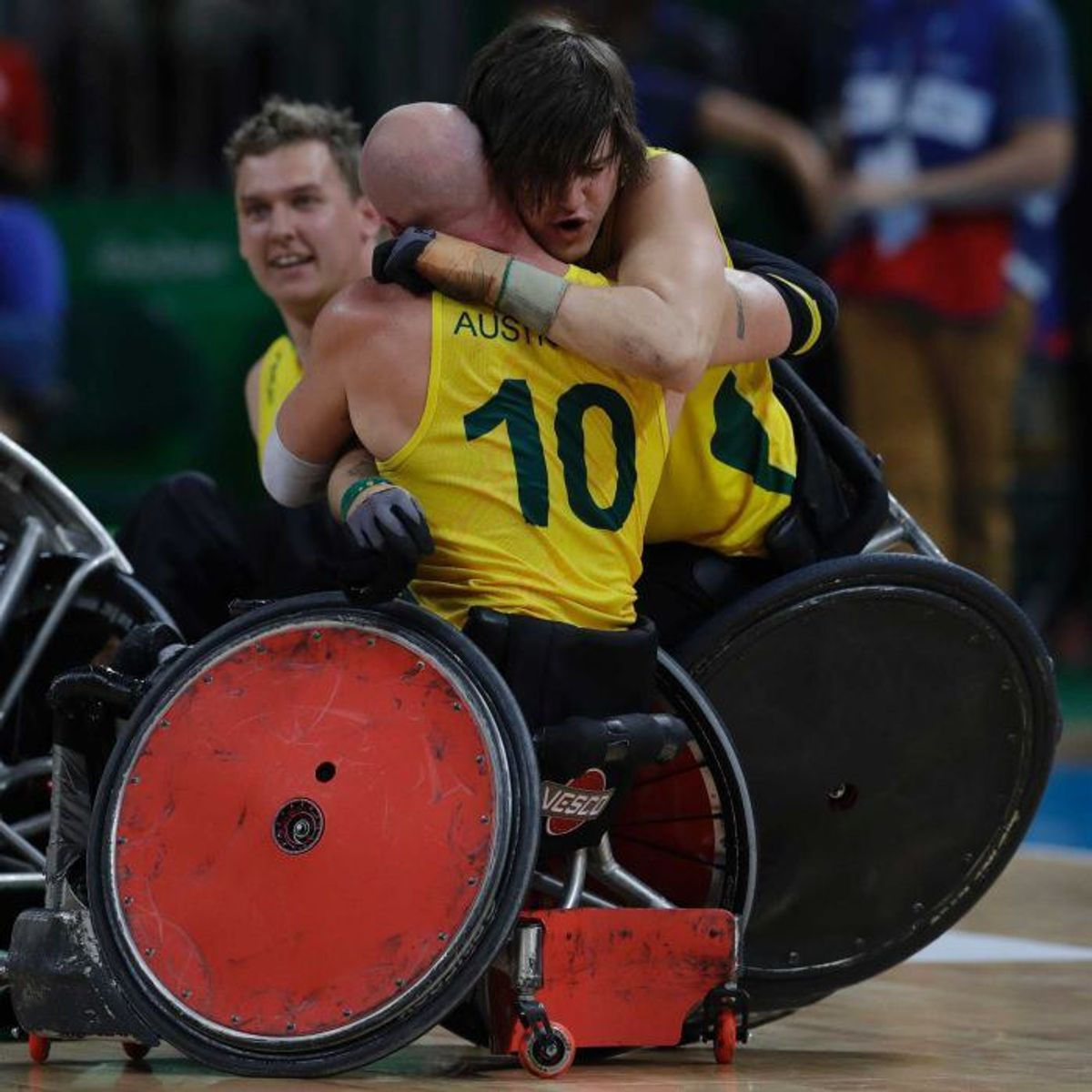 Australia Overcomes Team USA In Wild Wheelchair Rugby Final